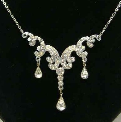 Edwardian Paste Necklace